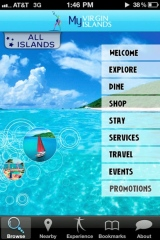 U.S. Virgin Islands Department of Tourism Launches Smartphone App